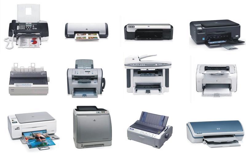 evolução das impressoras